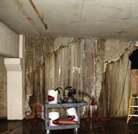 Гидроизоляция подвальных помещений изнутри